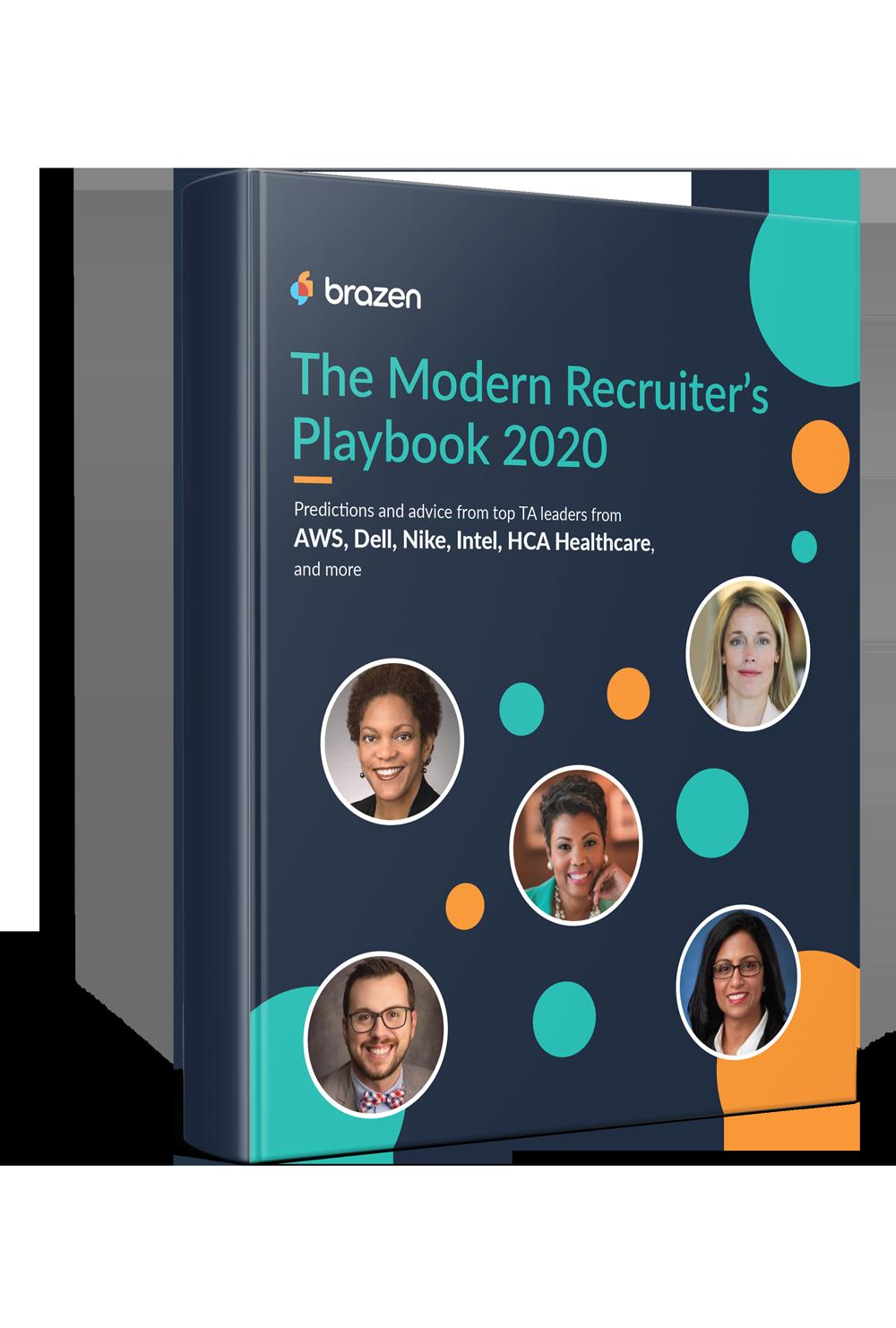 Brazen-P15_The Modern Recruiter's Playbook 2020_3D book mockup