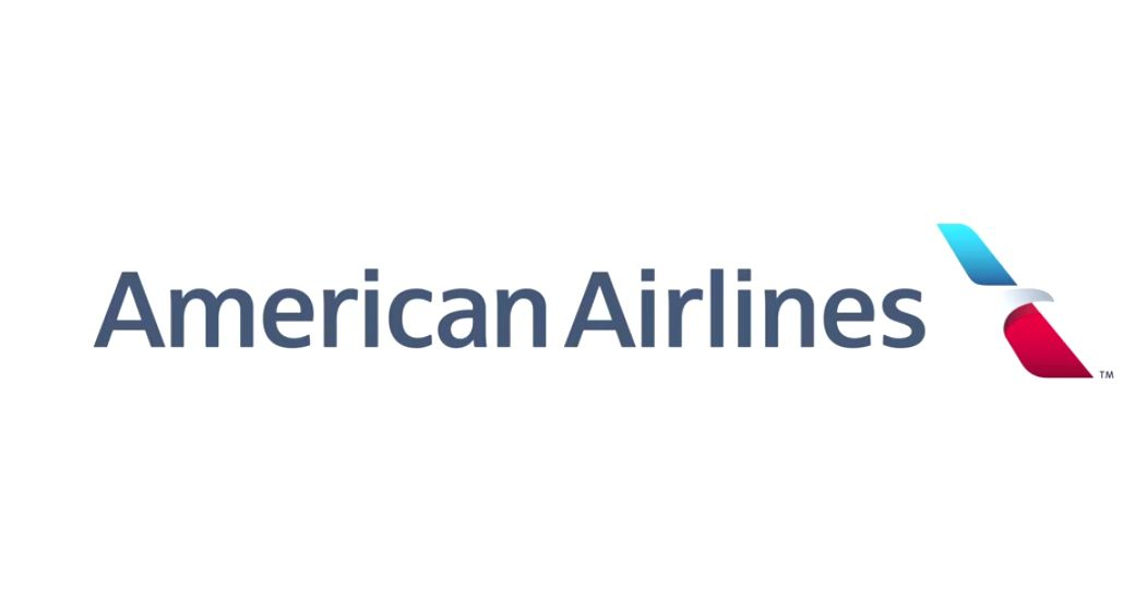 american airlines white background